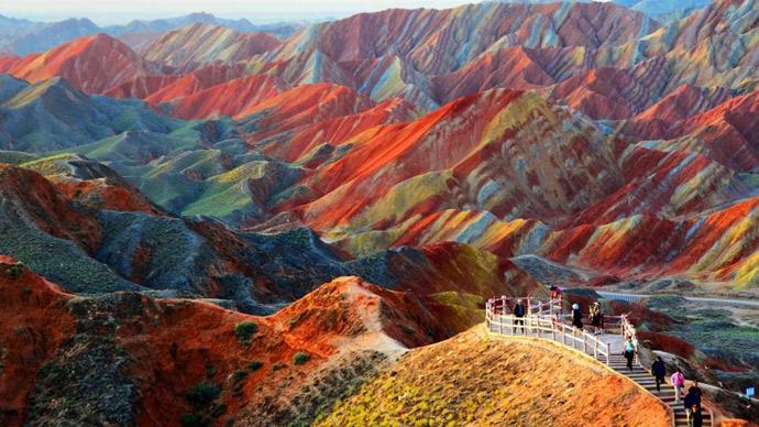 Parco-Geologico-Zhangye