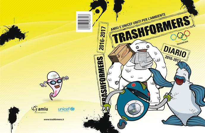 """E' in distribuzione la nuova edizione del """"Diario Trashformers"""""""