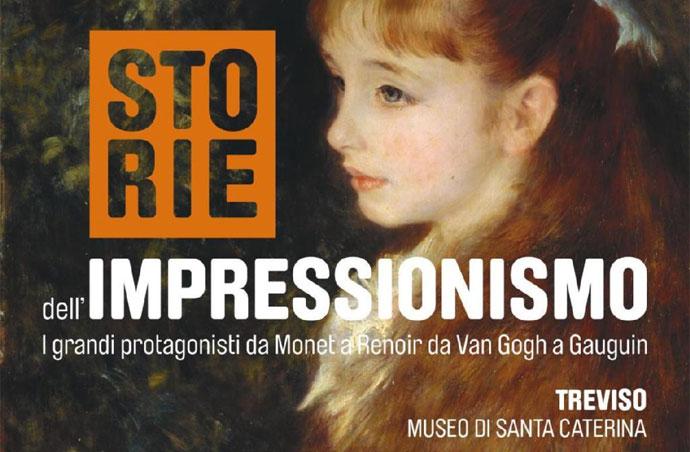 """Il 29-30 ottobre a Treviso e Venezia per la mostra """"Storie dell'Impressionismo"""" con Pesci Viaggi & Turismo"""