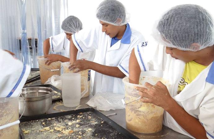 Realizzazione della Aula Didattica presso la Scuola di panificazione della Ciudad de los Niños in Perù