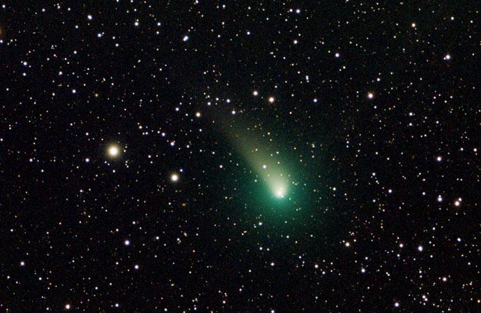 La Cometa del Natale 2018 all'Osservatorio del Righi