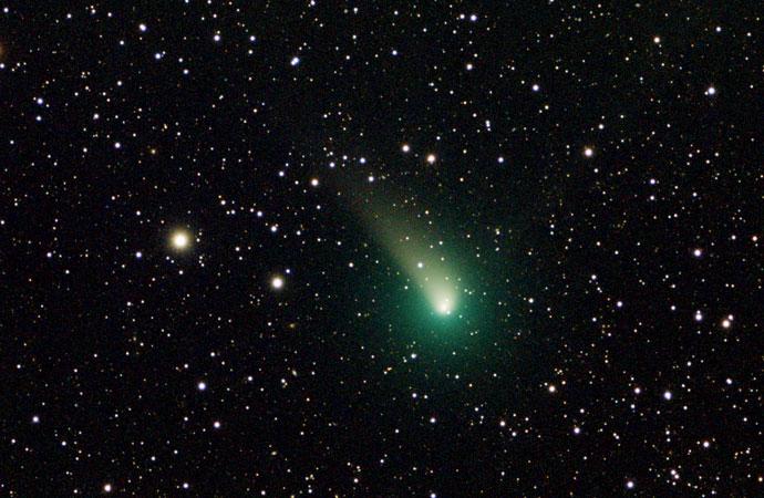 La Cometa del Natale 2018 all'Osservatorio del Righi