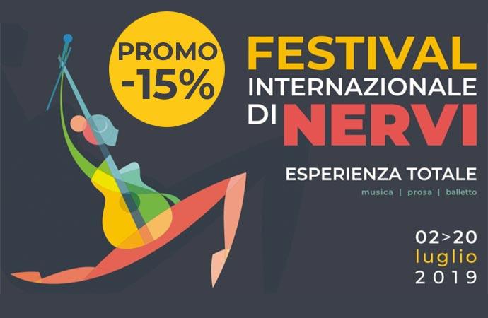 Speciale promozione Festival Internazionale di Nervi